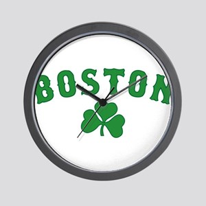 boston irish Wall Clock
