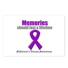 Alzheimer's Memories Postcards (Package of 8)