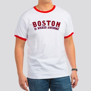boston is wicked awesome Ringer T