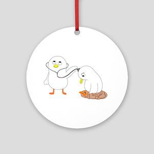 Psychiatrist Ornament (Round)