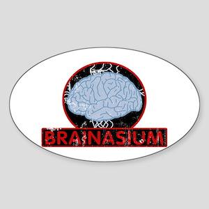 brainasium Oval Sticker