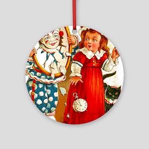 Halloween Tricks Glossy Ceramic Ornament