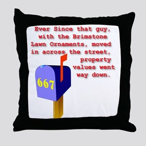 667 Throw Pillow