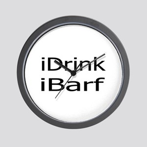 iDrink Wall Clock