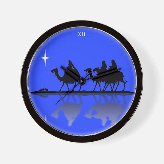 3 Wisemen Wall Clock