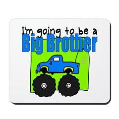 Monster Truck Big Brother Mousepad