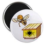The Masonic Bee Lodge Magnet