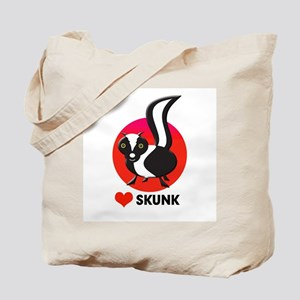 love skunk Tote Bag