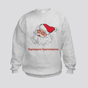 Greek Santa Kids Sweatshirt