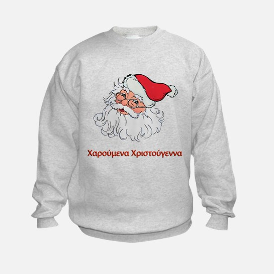 Greek Santa Sweatshirt