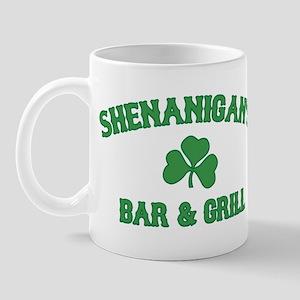 shenanigan's bar & grill Mug