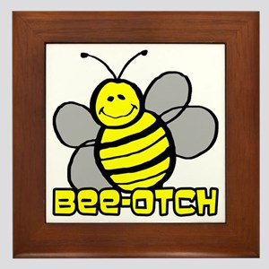 Beeotch Framed Tile