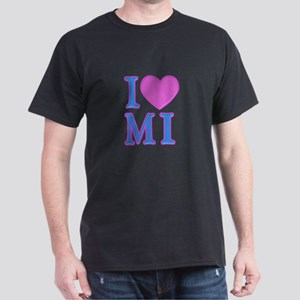 I Love MI Dark T-Shirt