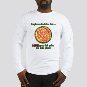 Wise Pizza Long Sleeve T-Shirt