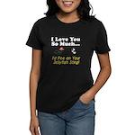 Pee on Your Jellyfish Sting Women's Dark T-Shirt