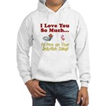 Pee on Your Jellyfish Sting Hooded Sweatshirt
