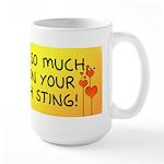 Pee on Your Jellyfish Sting Large Mug