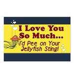 Pee on Your Jellyfish Sting Postcards (Package of