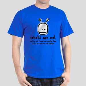 robots are cool Dark T-Shirt
