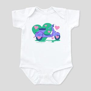 Scooter Hearts Infant Bodysuit