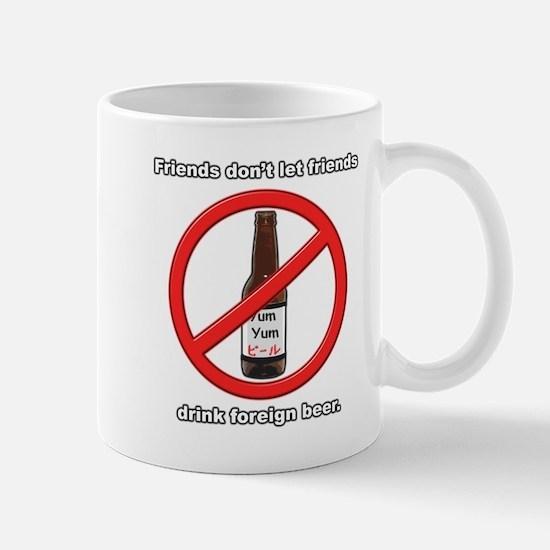 Foreign Beer Mug