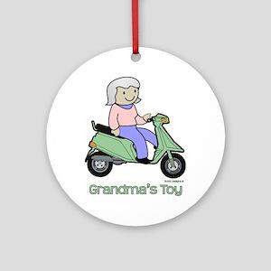 Grandma's Toy Ornament (Round)