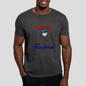 Proud Mom 1 (Police Officer) Dark T-Shirt