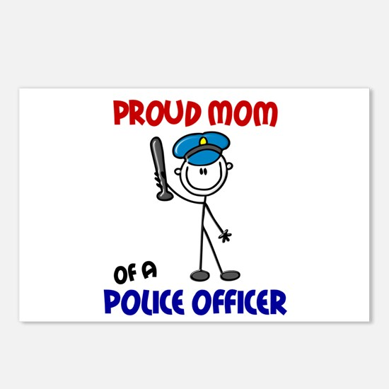 Proud Mom 1 (Police Officer) Postcards (Package of