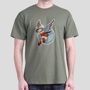 WASP - Women Airforce Service Pilots Dark T-Shirt