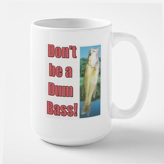 Dum Bass Large Mug