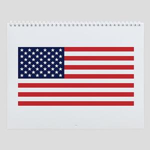 USA flag Wall Calendar
