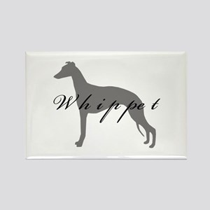 Whippet Rectangle Magnet