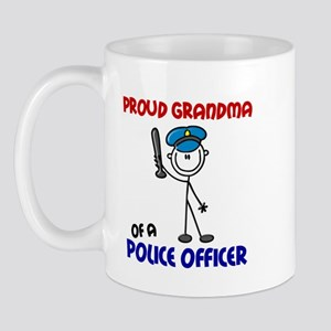 Proud Grandma 1 (Police Officer) Mug