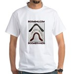 BOOMS4U shirt White T-Shirt