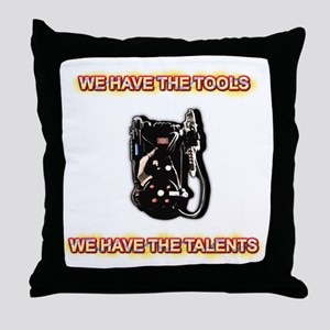 Tools and Talents Throw Pillow