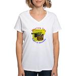 Arkansas Ladies Women's V-Neck T-Shirt