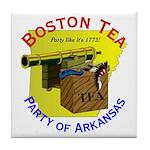 Arkansas Ladies Tile Coaster