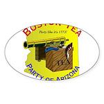 Arizona gents Oval Sticker