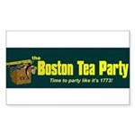 Horizontal Rectangle Sticker 10 pk)