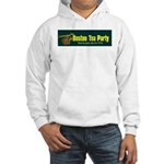 Horizontal Hooded Sweatshirt