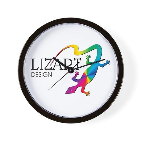 LizArt Design Logo Wall Clock