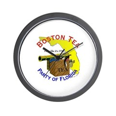 Florida Gents Wall Clock