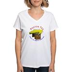 North Carolina Ladies Women's V-Neck T-Shirt