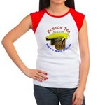 North Carolina Ladies Women's Cap Sleeve T-Shirt