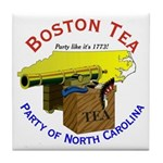 North Carolina Ladies Tile Coaster