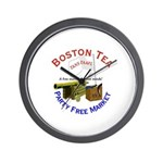 Free Marketeers Wall Clock