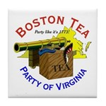 Yes, Virginia Tile Coaster