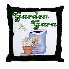 Garden Guru Throw Pillow