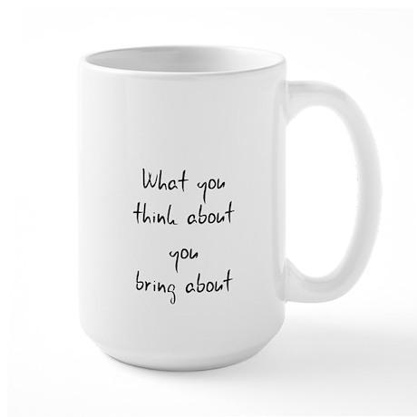 What I think about I bring ab Large Mug