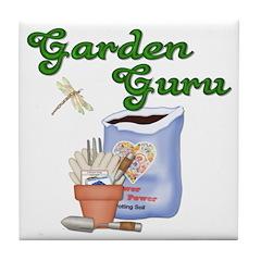 Garden Guru Tile Coaster